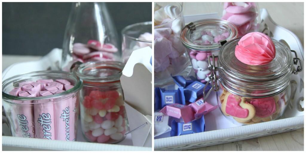 Mini Candy Table für Kollegen