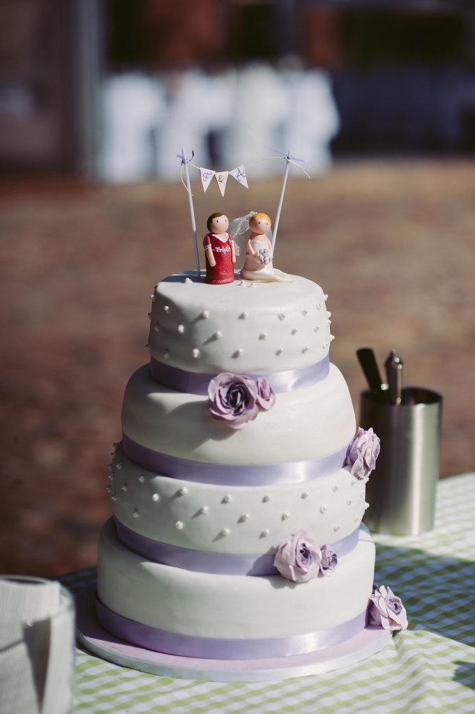 Hochzeitstorte Friederike und Adam