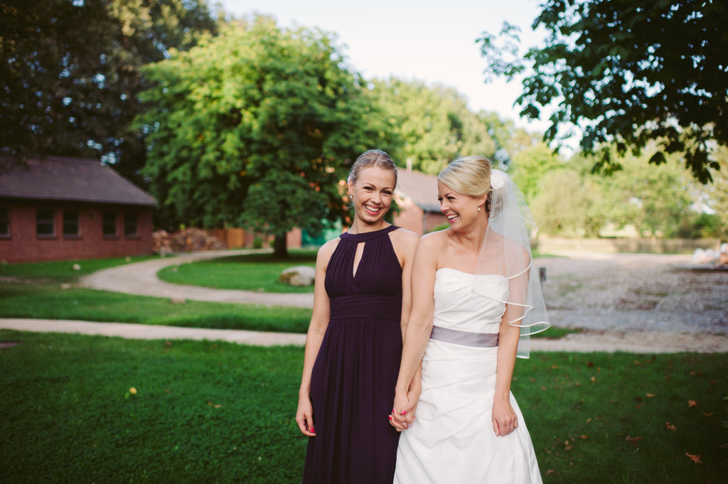 Two Wedding Sisters Friederike und Katharina