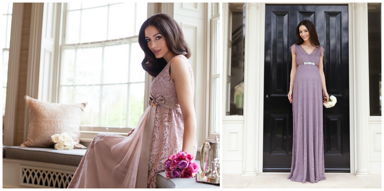 Brautkleider für schwangere Bräute - Hochzeitsblog - Two Wedding Sisters