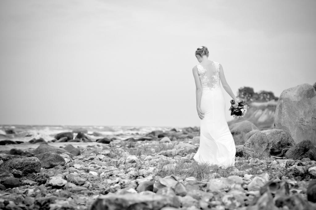 Brautshooting am Meer