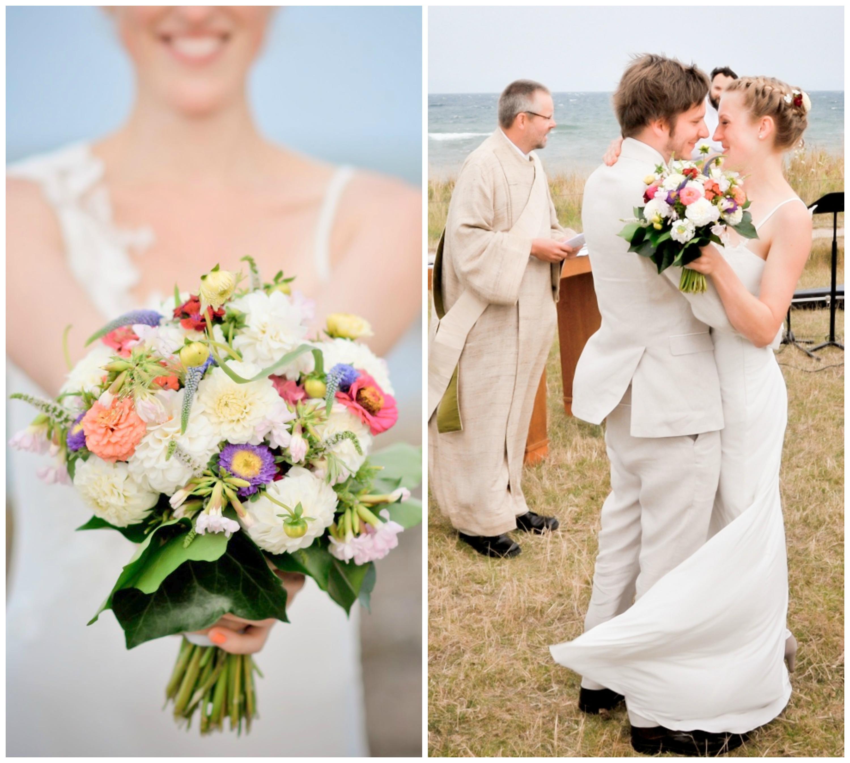 Sommerlicher Hochzeitsstrauss Hochzeitsblog Two Wedding Sisters