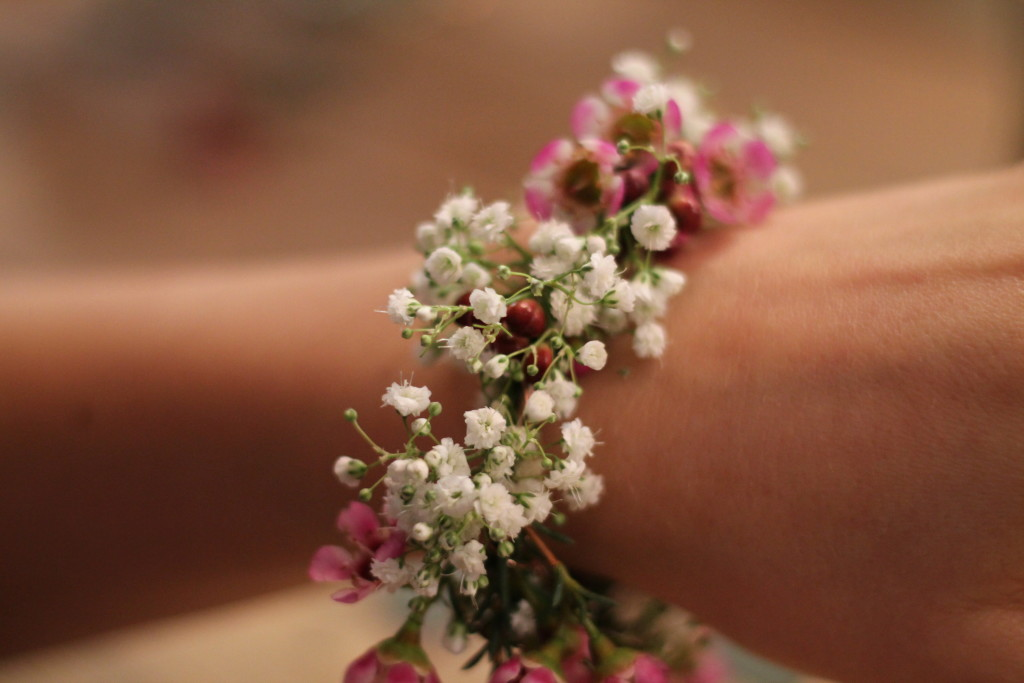 Blumenknüpfen mit Jil von den Kopflegenden