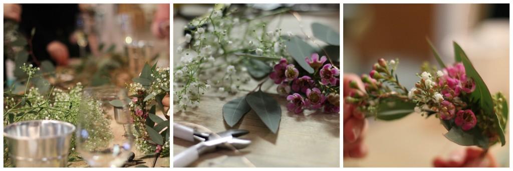 Blumenkranz Workshop bei den Kopflegenden