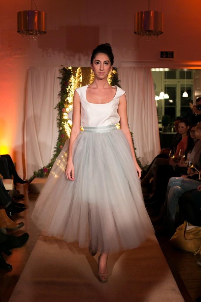 Brautkleid Modenschau