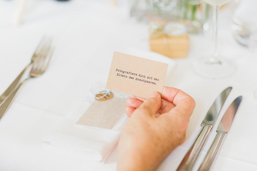 Fotoaufgabe Hochzeit