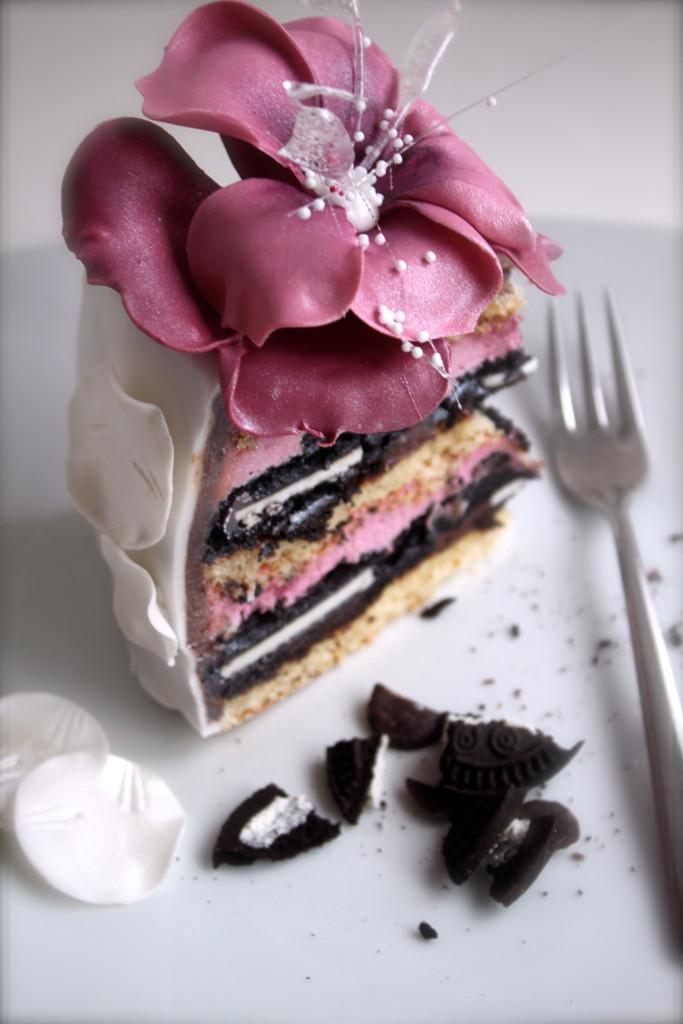 Torte Himbeer Oreo