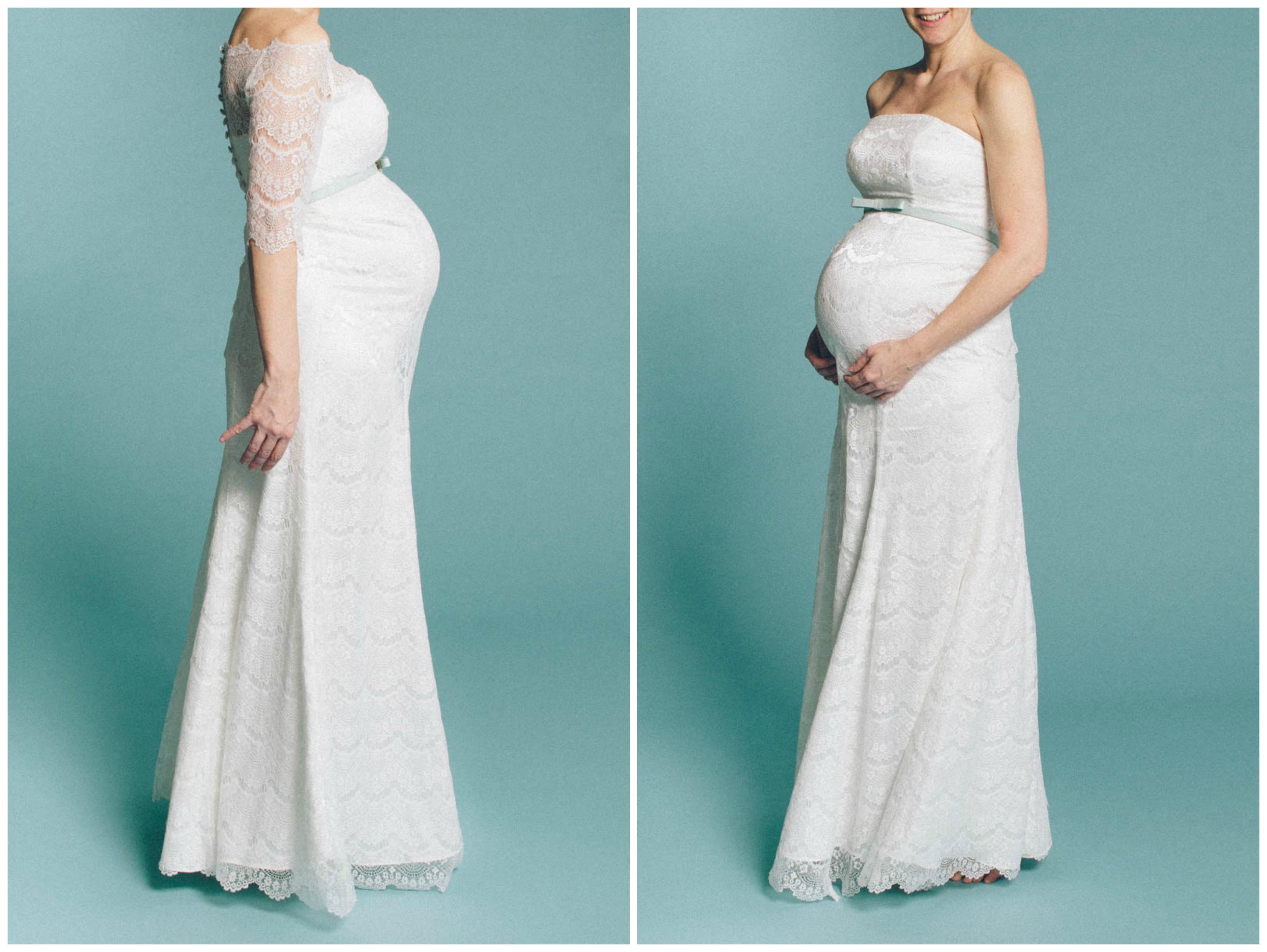 Brautkleider für Schwangere von küssdiebraut