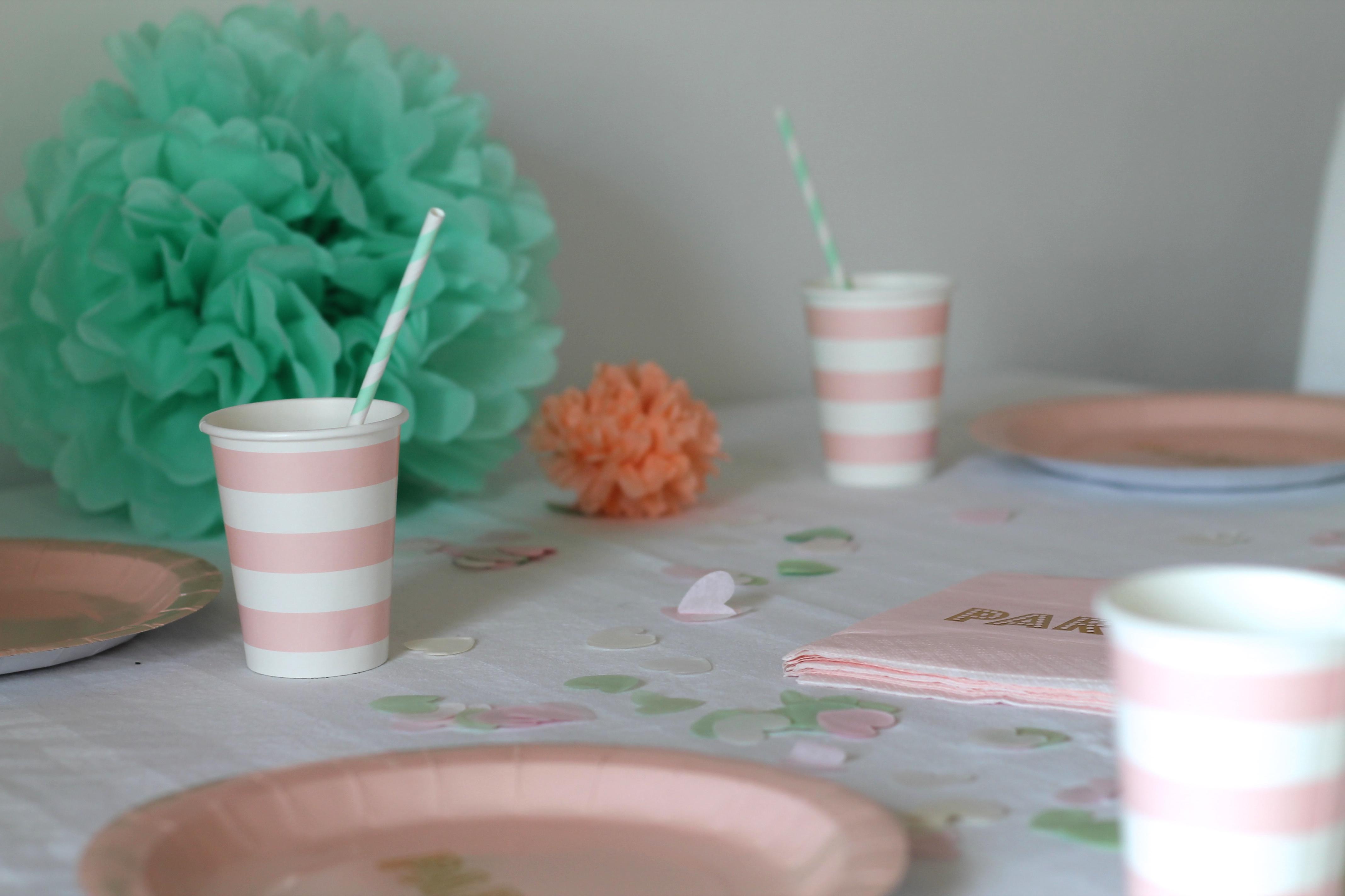 Katharinas junggesellinnenabschied sweet table dekoration - Party deko berlin ...