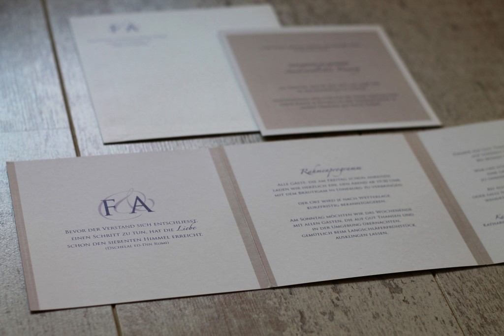 Hochzeit Einladung 2