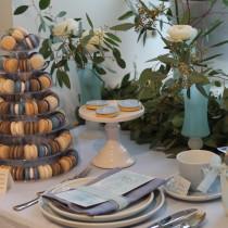 Hochzeit pastellblau