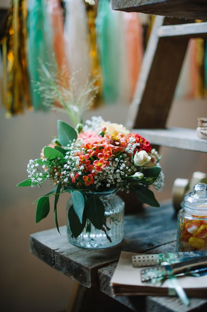Candybar Blumen