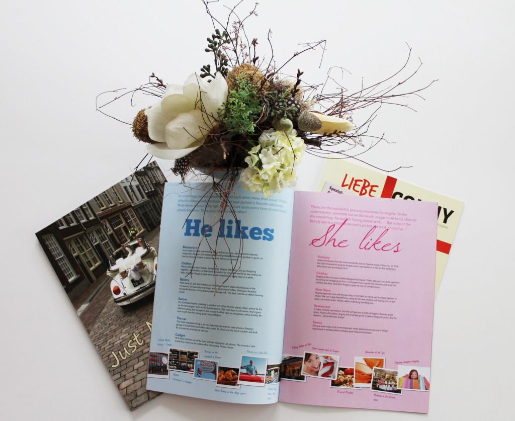 Hochzeitszeitung erstellen mit Jilster 3