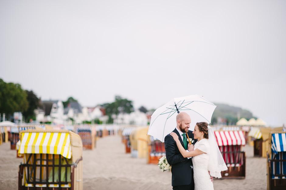 Strand Hochzeit Shooting