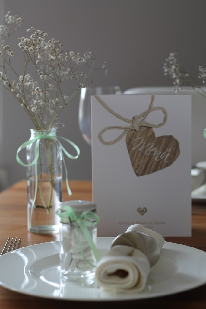 Menükarten Hochzeit 7