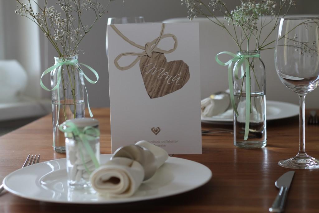 Menükarten Hochzeit 8