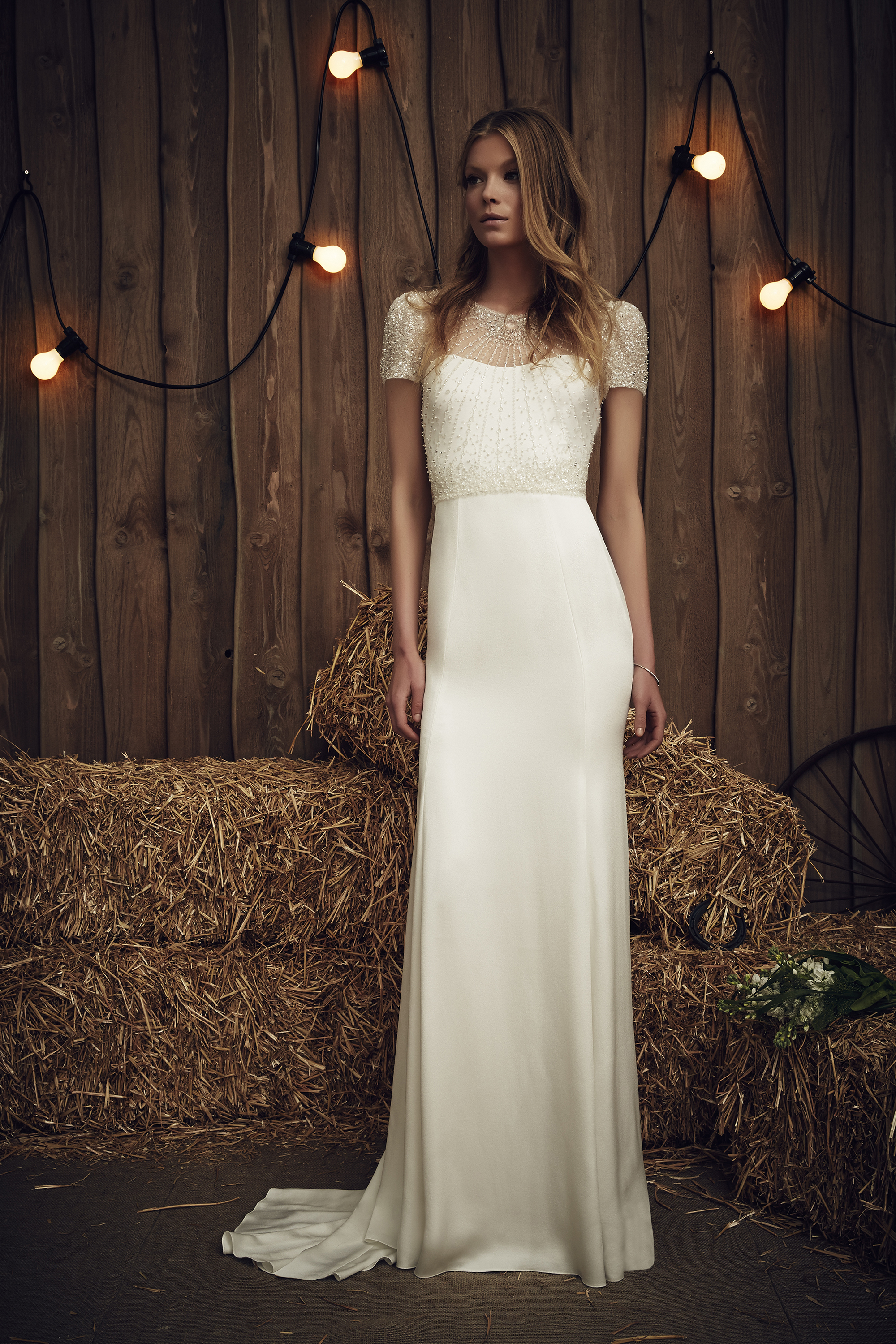 Jenny Packham Carrie Ivory