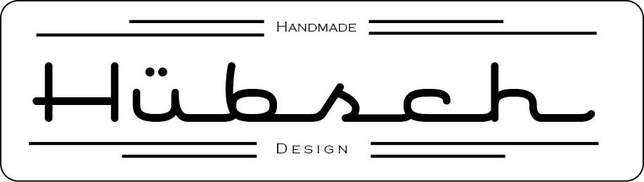Hübsch Handmade Design Logo